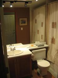 Full Bathroom with Deep Soaker Tub