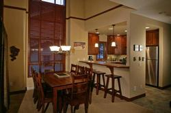 Great dining room and kitchen!