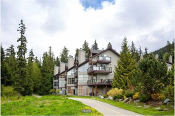 Welcome to our beautiful home at Blackcomb Greens. Our unit is located at far left by the forest.