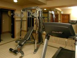 The Raven's private gym