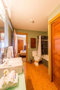 Main Bathroom with access from Queen room or main living area