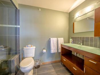 2nd Queen en-suite with steam shower