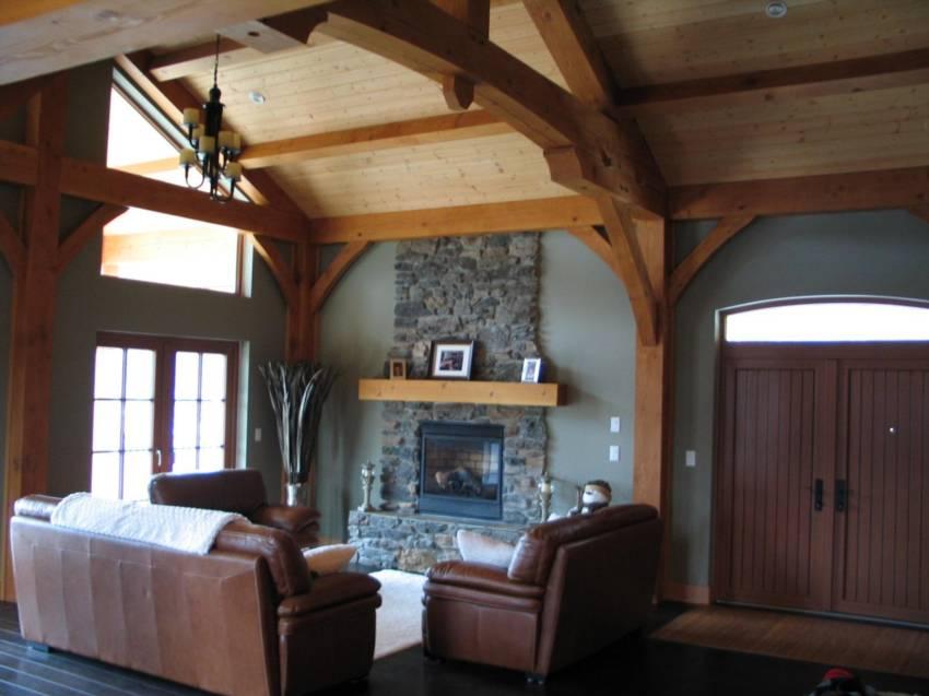 True Blue Timber Frame Sun Peaks Vacation Rental 1577
