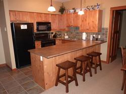 Our spacious, fully-equipped kitchen has everything to offer!