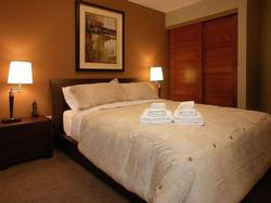 Snuggle down in our queen size bed with quality linens and bedding. Gorgeous ensuite compliments the room.
