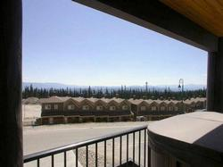 View from the deck and hot tub. Fabulous view of the Monashee Mountains.