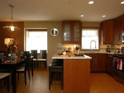 Gourmet cook's delight. Top of the line appliances, granite counter tops and all the cookery for making perfect meals.