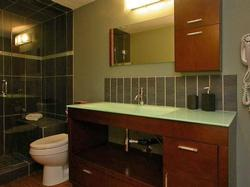 The Master Ensuite has a steam shower, rain shower head, European design sink and vanity and heated flooring.