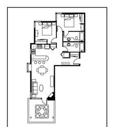 Layout of our home.