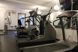 Glacier Lodge fitness room