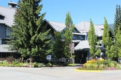 Glacier Lodge in summer