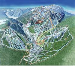 Map of ski runs.