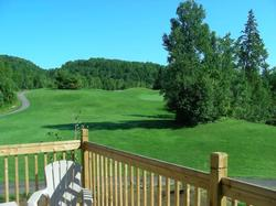 View of the 10th Hole Fairway from the deck.