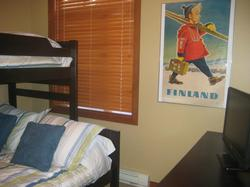 2nd bedroom has also a 5 drawer dresser, 22inch LCD TV and a Playstation 2
