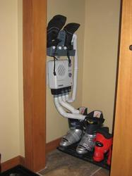 Boot and mitten dryer - one of the small things that makes life so much more convenient!
