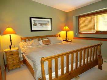 2nd upstairs king bedroom. Attached bathroom with rain shower, and large walk-in closet