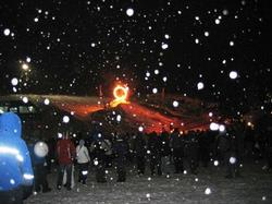See the Fire&Ice show on Sunday evenings in Whistler.