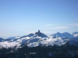Black Tusk from Whistler Peak.