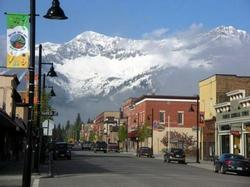 Town of Fernie and the Lizard Range (Ski Hill)
