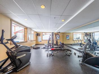 Exercise room available for all Timbers guests.
