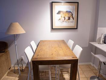 New dining table & chairs