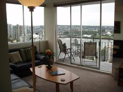 Vancouver 1 Bedroom Accommodation - West End - #1843