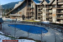 Take a winter swim in the year round heated pool or relax in 1 of 3 hot tubs