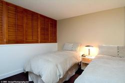 Comfortable 2nd bedroom with long twin beds. This can be a king bed if requested prior to arrival