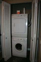In-suite washer & dryer