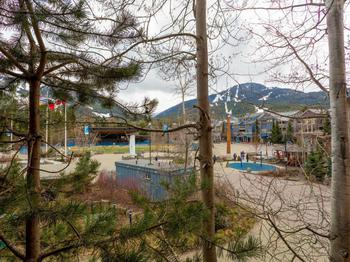 Awesome View of Whistler and Blackcomb mountains