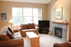 A beautiful spacious place to relax. Our full sized living room provides the opportunity to enjoy the warmth of the fireplace, a great movie, or a board game.