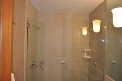 Double-shower heads in master bath