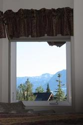Or curl up with a good book in window nook and enjoy the views.
