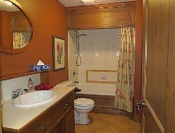 Master Bathroom with Jet Tub