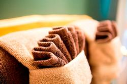 Enjoy cozy new towels and luxury linens