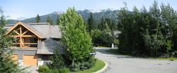 Our home has stellar views of the local mountains, Blackcomb, Whistler, Sproat, & Rainbow.