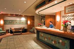 Woodrun Lodge front desk Easy check in  Free concierge service when booking directly with owners