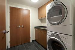 Laurdry room - washer and dryer in separate room.