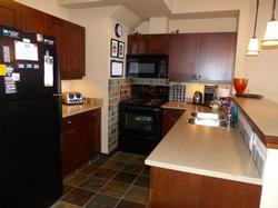 your fully equipped kitchen with full size fridge/freezer and oven