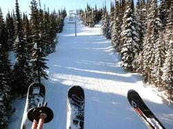 ski to your first ride of the day