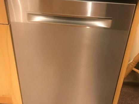 New Bosch dishwasher very quiet