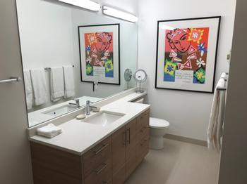 Guest and main floor bathroom