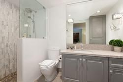 1 of 2 bathrooms:full ensuite off of master bedroom