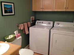 Laundry room plus 1/2 bathroom