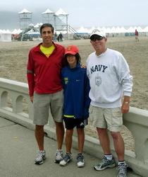 Three generations and the Hood to Coast Relay - 2009