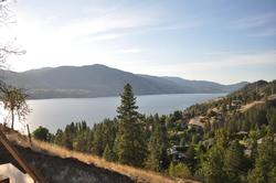 North West view of Skaha Lake from deck
