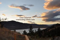 Sunset over looking Skaha Lake