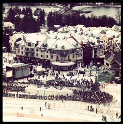 Station Mont-Tremblant village base
