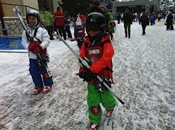 The world acclaimed Whistler Kids Ski School is located a 5 minute walk away at the base of Whistler Mountain. There are a host of programs to choose from and keep an eye out for our Discover Whistler periods for accommodation rates which co-oncide with the Discover Whistler Ski Packages to get 30 percent off your ski lessons. All children are equipped with mandatory free helmets, and a GPS device is attached to each child - absolute safety first here.