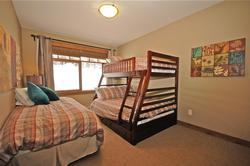 Bedroom #2 - bunk bed with twin and double. Separate twin bed. Plenty of room for 3-4 people.